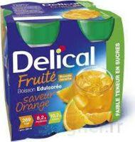 Delical Boisson Fruitee Nutriment édulcoré Orange 4bouteilles/200ml à Ris-Orangis