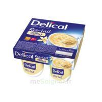 DELICAL RIZ AU LAIT Nutriment vanille 4Pots/200g à Ris-Orangis