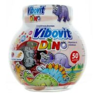 VIBOVIT DINO Gom à mâcher vitaminée fruits B/50 à Ris-Orangis