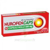 NUROFENCAPS 400 mg Caps molle Plq/10 à Ris-Orangis
