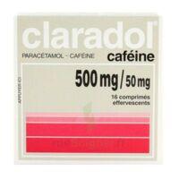 CLARADOL CAFEINE 500 mg/50 mg, comprimé effervescent à Ris-Orangis