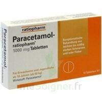 PARACETAMOL RATIOPHARM 1000 mg, comprimé à Ris-Orangis
