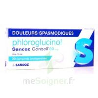 PHLOROGLUCINOL SANDOZ CONSEIL 80 mg, comprimé orodispersible à Ris-Orangis