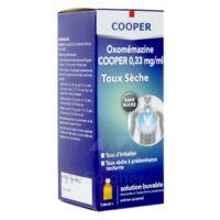 OXOMEMAZINE H3 SANTE 0,33 mg/ml SANS SUCRE, solution buvable édulcorée à l'acésulfame potassique à Ris-Orangis