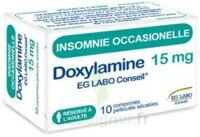 DOXYLAMINE EG LABO CONSEIL 15 mg, comprimé pelliculé sécable à Ris-Orangis