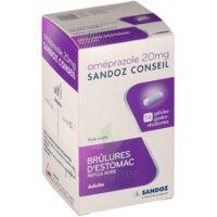 Omeprazole Sandoz Conseil 20 Mg Gél Gastro-rés Plq/7 à Ris-Orangis