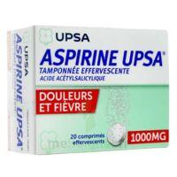 ASPIRINE UPSA TAMPONNEE EFFERVESCENTE 1000 mg, comprimé effervescent à Ris-Orangis