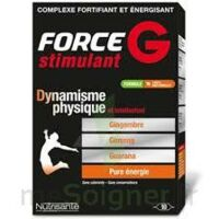 FORCE G STIMULANT, bt 10 à Ris-Orangis