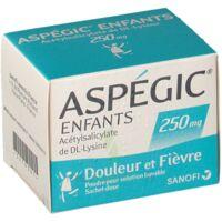 ASPEGIC ENFANTS 250, poudre pour solution buvable en sachet-dose à Ris-Orangis