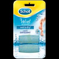 Scholl Velvet Smooth Wet&Dry Rouleaux de remplacement grain exfoliant à Ris-Orangis