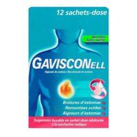 GAVISCONELL Suspension buvable sachet-dose menthe sans sucre 12Sach/10ml à Ris-Orangis