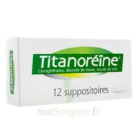 TITANOREINE Suppositoires B/12 à Ris-Orangis