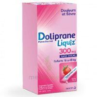Dolipraneliquiz 300 mg Suspension buvable en sachet sans sucre édulcorée au maltitol liquide et au sorbitol B/12 à Ris-Orangis