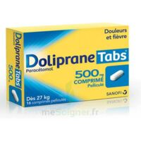 DOLIPRANETABS 500 mg Comprimés pelliculés Plq/16 à Ris-Orangis
