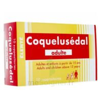 COQUELUSEDAL ADULTES, suppositoire à Ris-Orangis