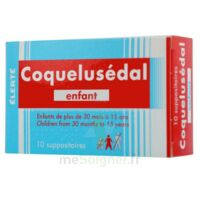 COQUELUSEDAL ENFANTS, suppositoire à Ris-Orangis
