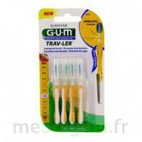 GUM TRAV - LER, 1,3 mm, manche jaune , blister 4 à Ris-Orangis