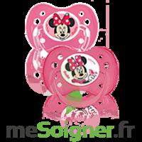Dodie Disney Sucette anatomique silicone +6mois minnie Lot/2 à Ris-Orangis