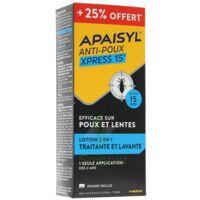 Apaisyl anti-poux Xpress 15' +25% offert à Ris-Orangis