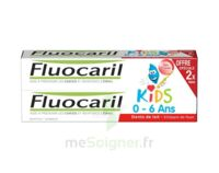 Fluocaril Kids Gel dentifrice Fraise 0/6ans 2*50ml à Ris-Orangis