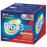Bion 3 Défense Junior Comprimés à croquer framboise B/30+7 à Ris-Orangis