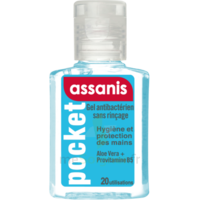 Assanis Pocket Gel antibactérien mains 20ml à Ris-Orangis