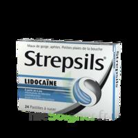 Strepsils lidocaïne Pastilles Plq/24 à Ris-Orangis