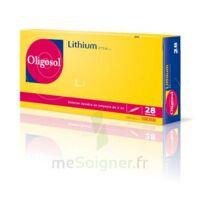 Oligosol Lithium Solution buvable en ampoule ou en récipient unidose 28Amp/2ml à Ris-Orangis