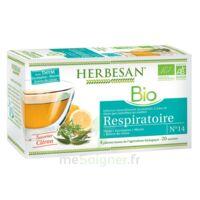 Herbesan Thym bio Tisane respiratoire 20 Sachets à Ris-Orangis