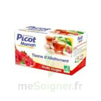 Picot Maman Tisane d'allaitement Fruits rouges 20 Sachets à Ris-Orangis