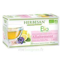 Herbesan Infusion Bio Tisane allaitement 20 Sachets à Ris-Orangis