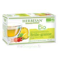 Herbesan Infusion Bio Tisane brûle graisses 20 Sachets à Ris-Orangis