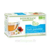 Herbesan Infusion Bio Tisane relaxation détente 20 Sachets à Ris-Orangis