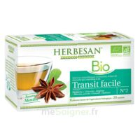 Herbesan Infusion Bio Tisane transit facile 20 Sachets à Ris-Orangis