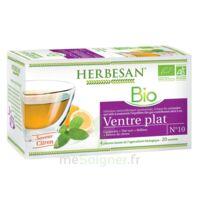 Herbesan Infusion Bio Tisane ventre plat 20 Sachets à Ris-Orangis