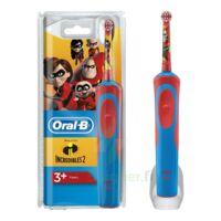 Oral B Incredibles 2 Brosse dents électrique enfant 3ans et+ à Ris-Orangis