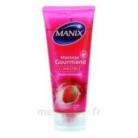 Manix Gel Comestible De Massage Fraise 200ml à Ris-Orangis
