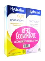 Hydralin Quotidien Gel lavant usage intime 200ml+Gyn 200ml à Ris-Orangis