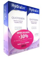 Hydralin Quotidien Gel lavant usage intime 2*200ml à Ris-Orangis