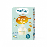 Modilac Céréales Farine Biscuit miel à partir de 6 mois B/300g à Ris-Orangis