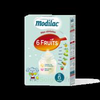 Modilac Céréales Farine 6 Fruits à partir de 8 mois B/300g à Ris-Orangis