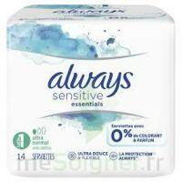 Always Serviettes Sensitive Essentials - Normal Plus à Ris-Orangis