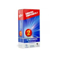 Sortez Couverts Préservatif lubrifié avec réservoir B/12 à Ris-Orangis