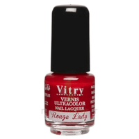 Vitry Vernis à ongles Rouge lady mini Fl/4ml à Ris-Orangis