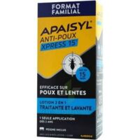 Apaisyl Anti-poux Xpress Lotion antipoux et lente 300ml à Ris-Orangis