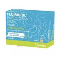 Fluimucil Expectorant Acetylcysteine 600 Mg Glé S Buv Adultes 10sach à Ris-Orangis