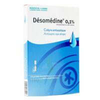 DESOMEDINE 0,1 % Collyre sol 10Fl/0,6ml à Ris-Orangis