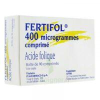 FERTIFOL 400 µg Cpr Plq/90 à Ris-Orangis