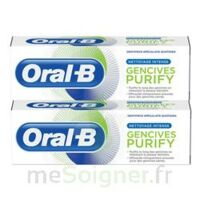 Oral B Gencives Purify Dentifrice 2*T/75ml à Ris-Orangis