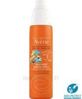 Avène Eau Thermale Solaire Spray Enfant 50+ 200ml à Ris-Orangis
